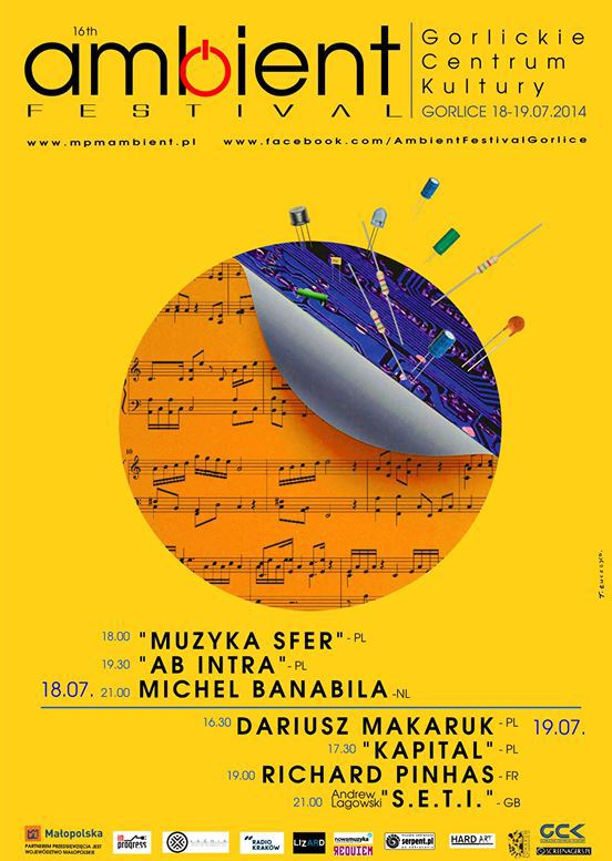 Michel Banabila at the Ambient Festival Gorlice 2014